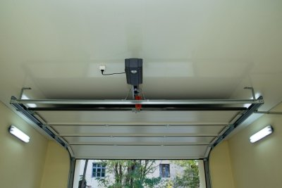 automatic garage door open